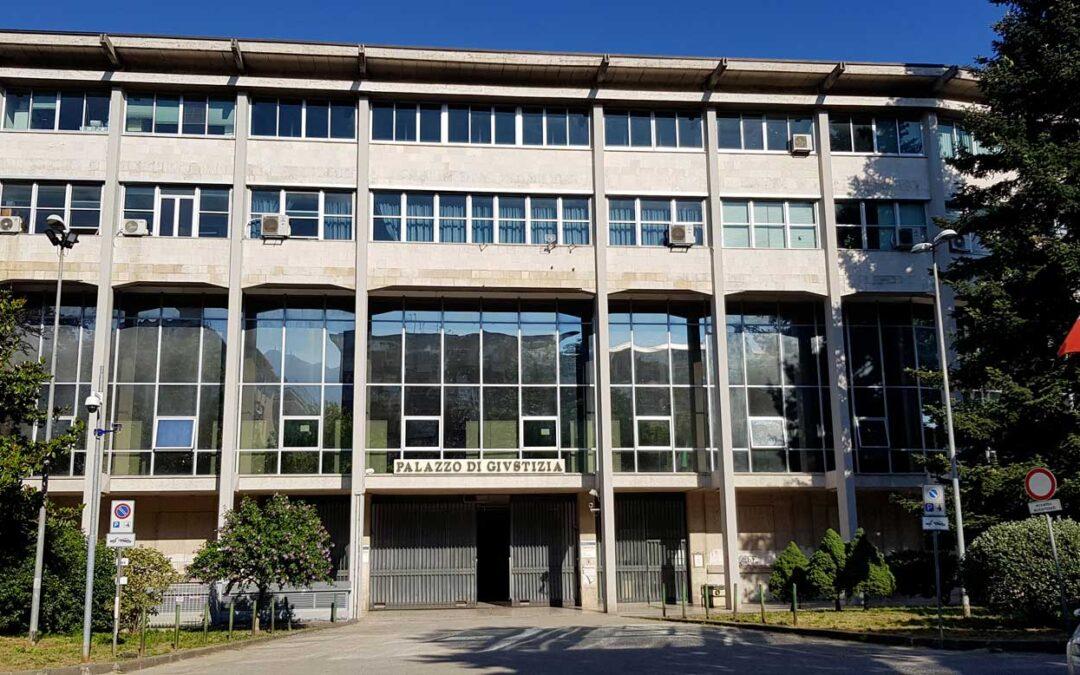 Il Palazzo di Giustizia di Avellino
